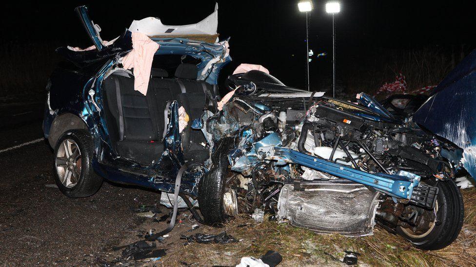 A8832 fatal crash