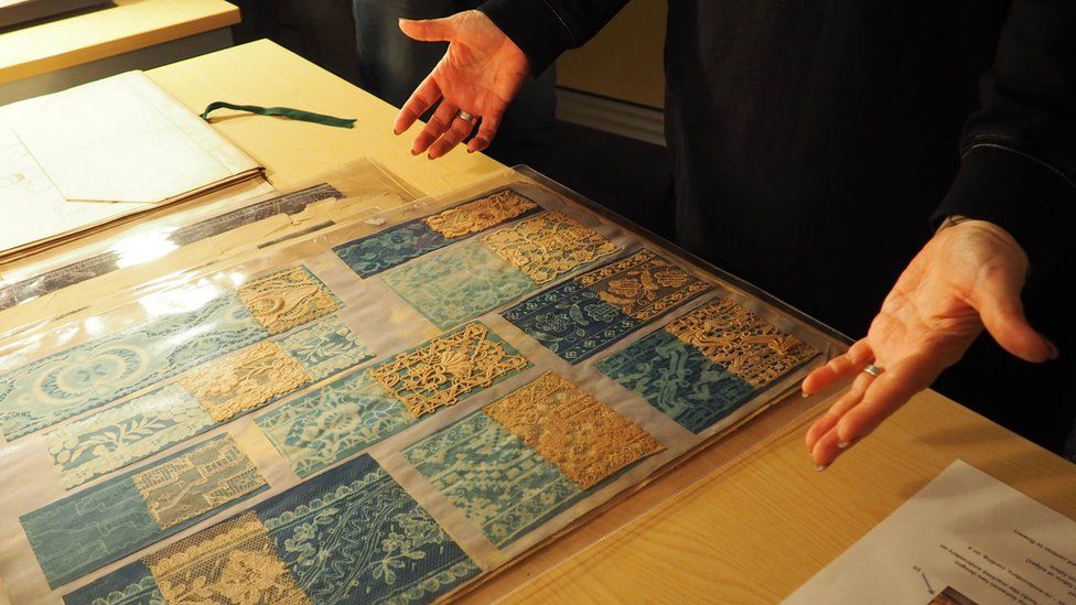 NTU lace archive tour