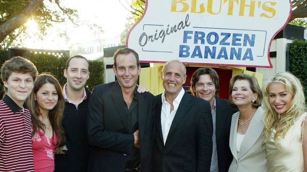 The cast of Arrested Development in 2004