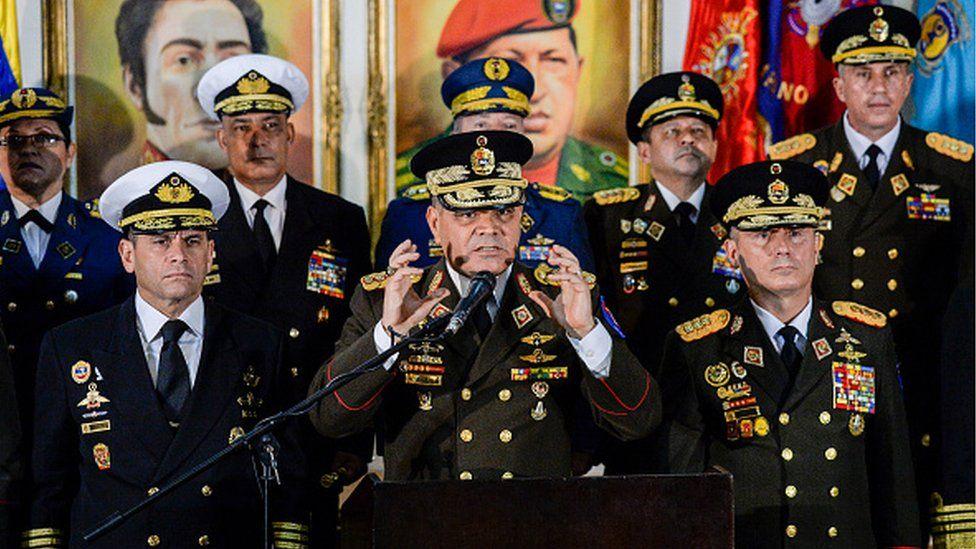 Venezuela military leadership