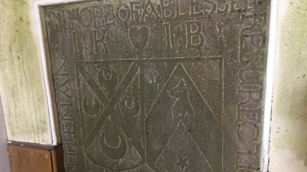 Old tomb stone