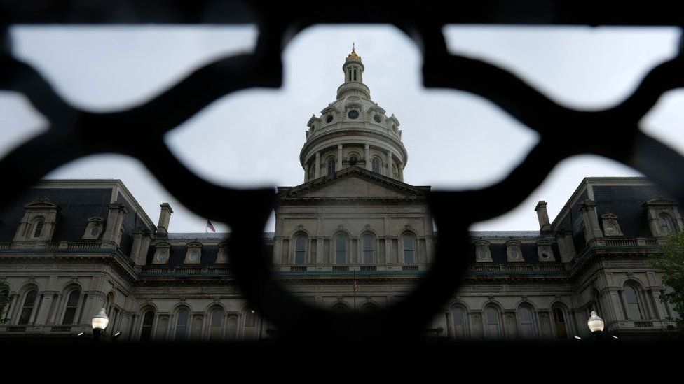 Baltimore government held hostage by hackers' ransomware