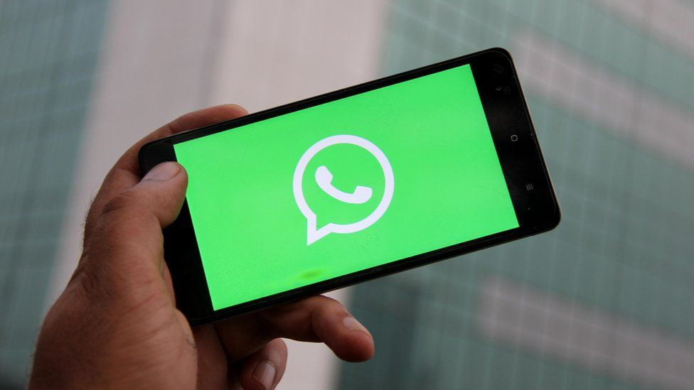 Representational image of WhatsApp logo