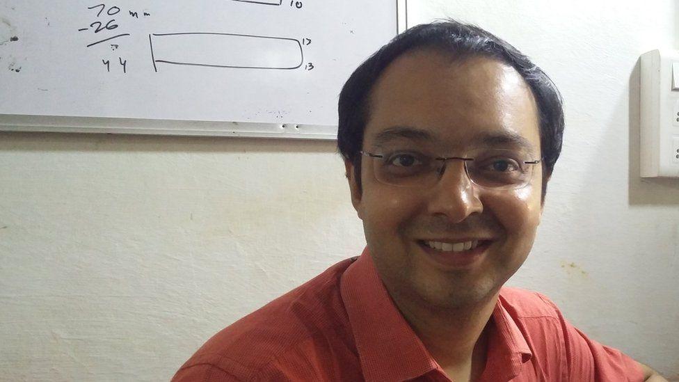 Head and shoulder shot of Hasit Ganatra