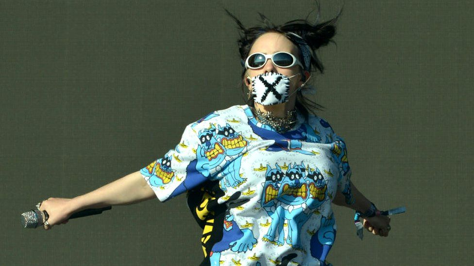 Billie Eilish at Glastonbury 2019