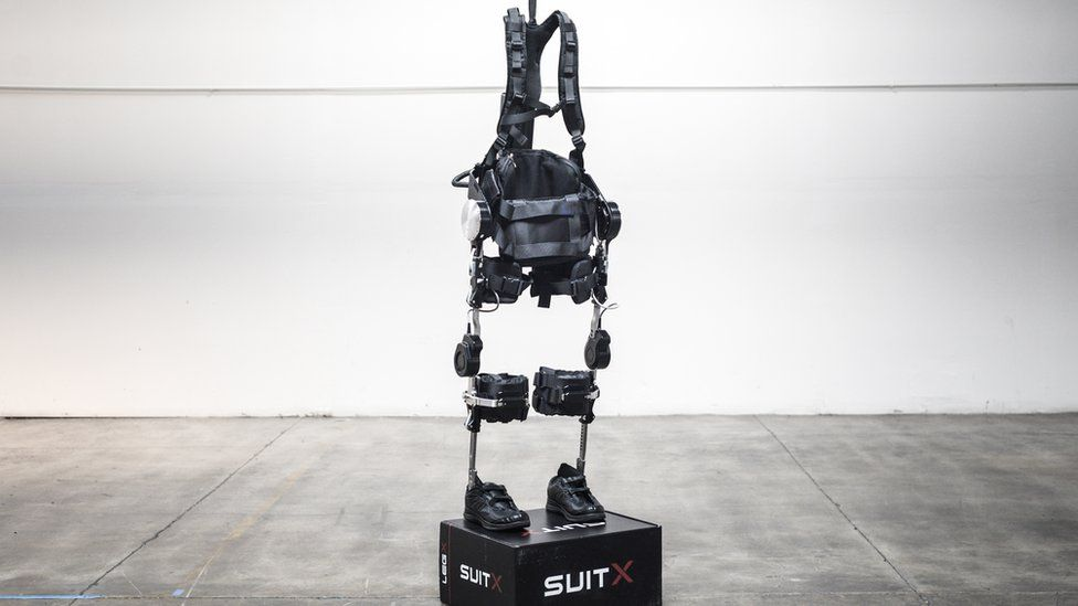 A SuitX exoskeleton