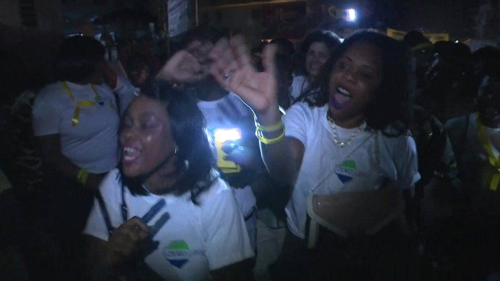 Celebrations in Freetown
