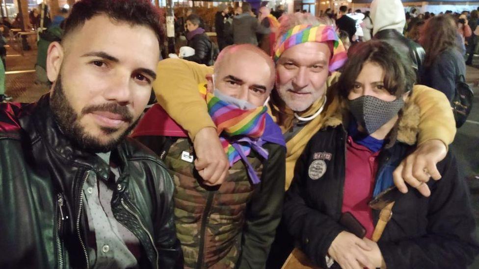 Atilio Deana and friends