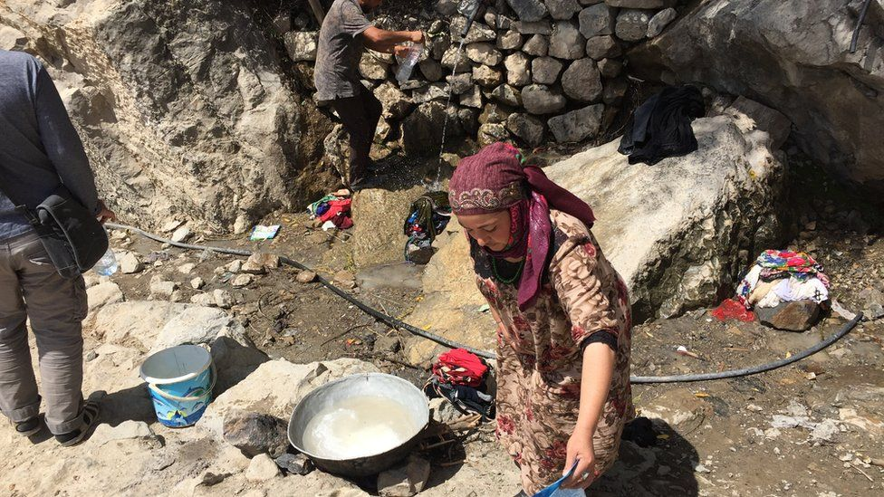 Local springs are the essence of life in Dehibolo