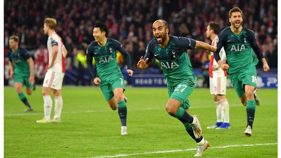 Tottenham arrête l'Ajax aux portes de la finale de la champions League.