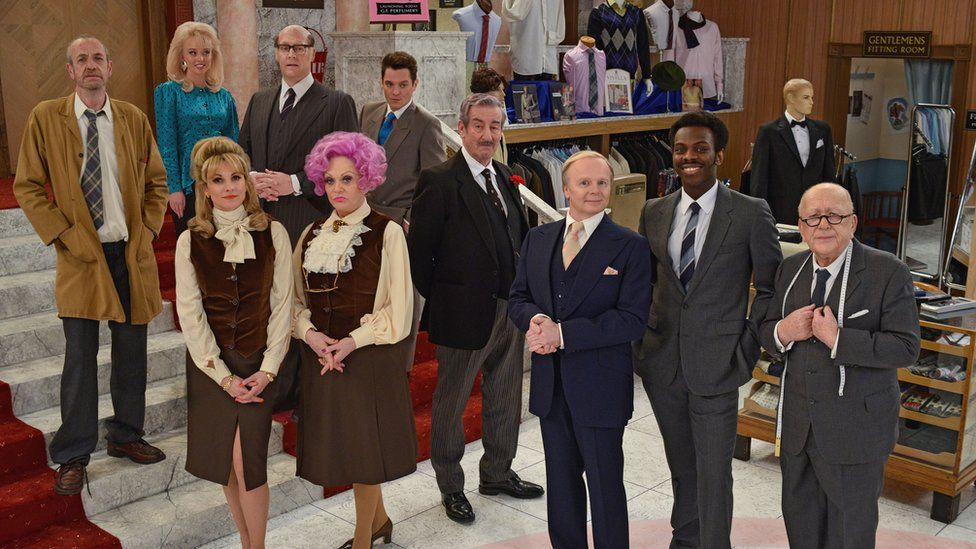 The cast of Are You Being Served