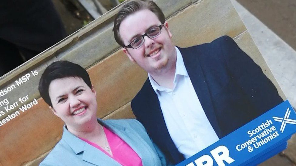 Leaflet with Thomas Kerr and Ruth Davidson
