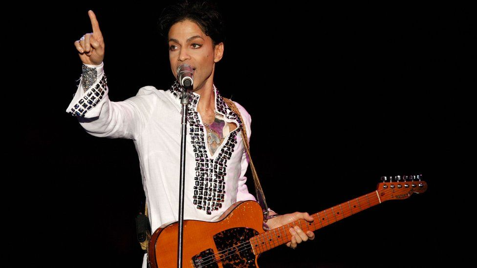 Prince at the Coachella Valley Music And Arts Festival in 2008