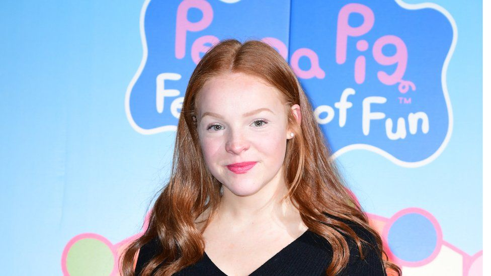 Harley Bird, the third artist to voice the character of Peppa Pig