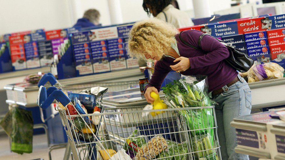 Tesco shopper