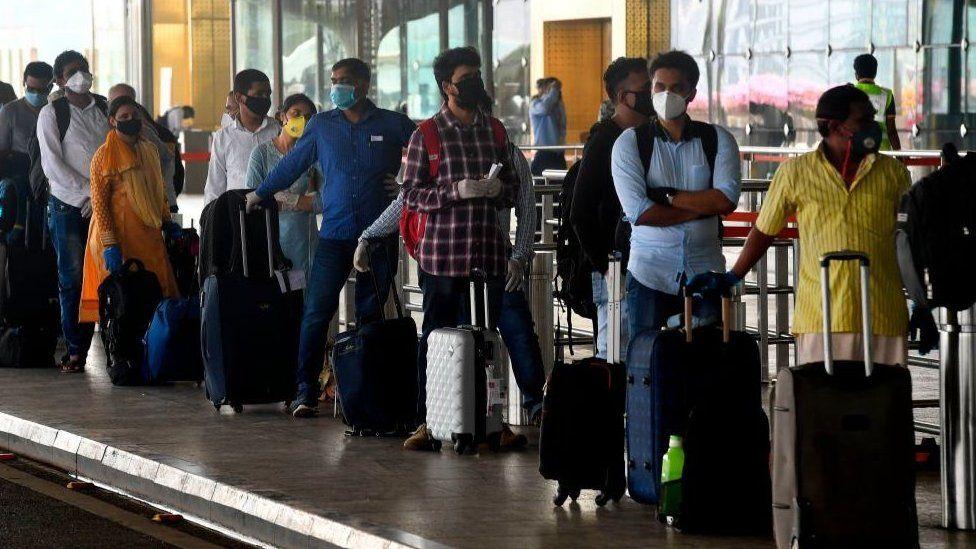 India coronavirus: Chaos at airports as domestic flights resume