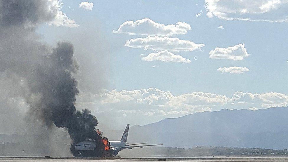 British Airways Fire