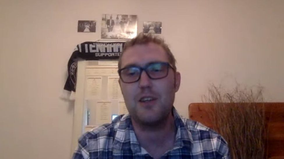 Jay Flynn broadcasting on YouTube