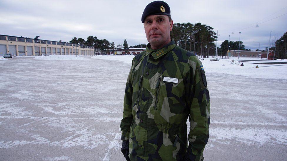 Lt Col Stefan Pettersson