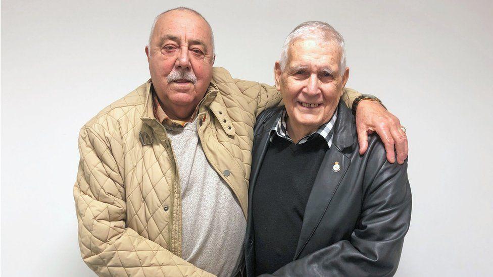 John Halloran and John Stacey