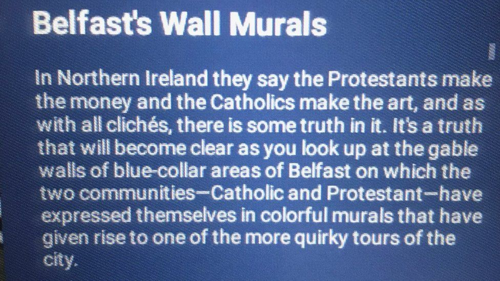 Fodor's Travel removes 'offensive' Belfast murals guide
