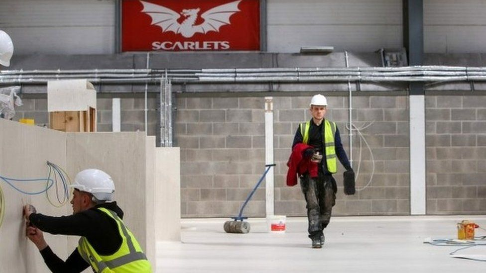 Parc y Scarlets is being transformed in Llanelli