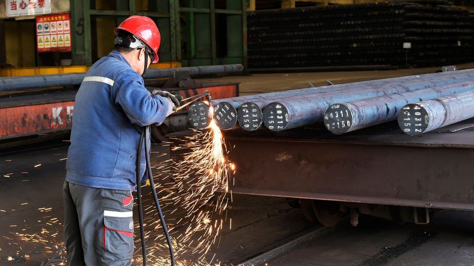 A Chinese steelmaker