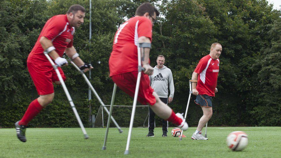 amputee footballers