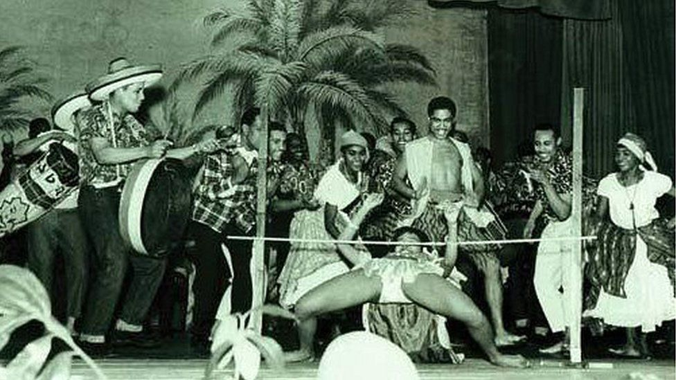 Caribbean carnival in St Pancras Town Hall in 1959