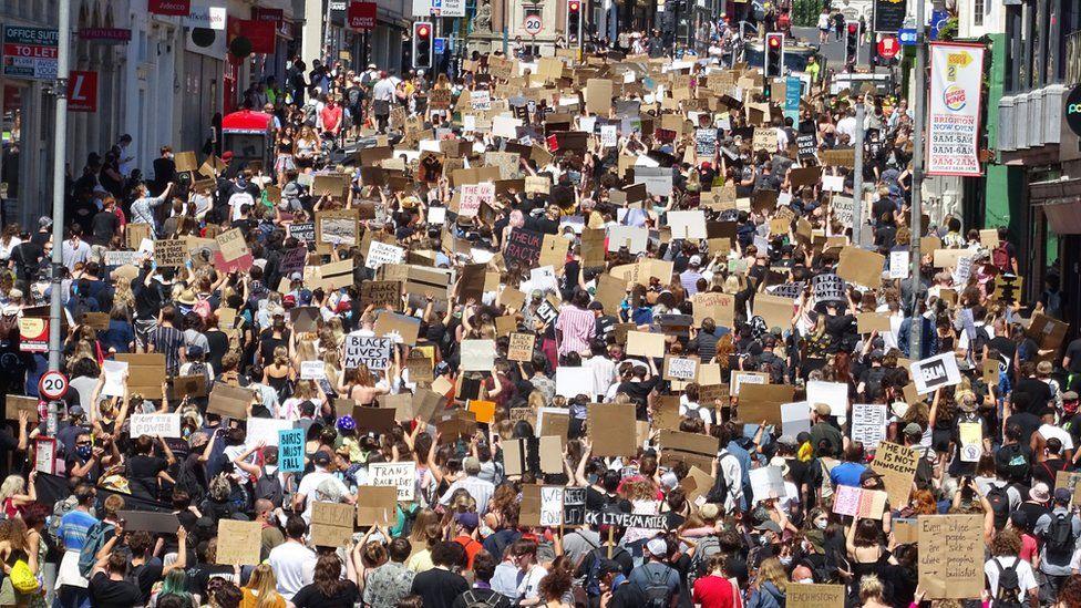 Brighton Black Lives Matter protest