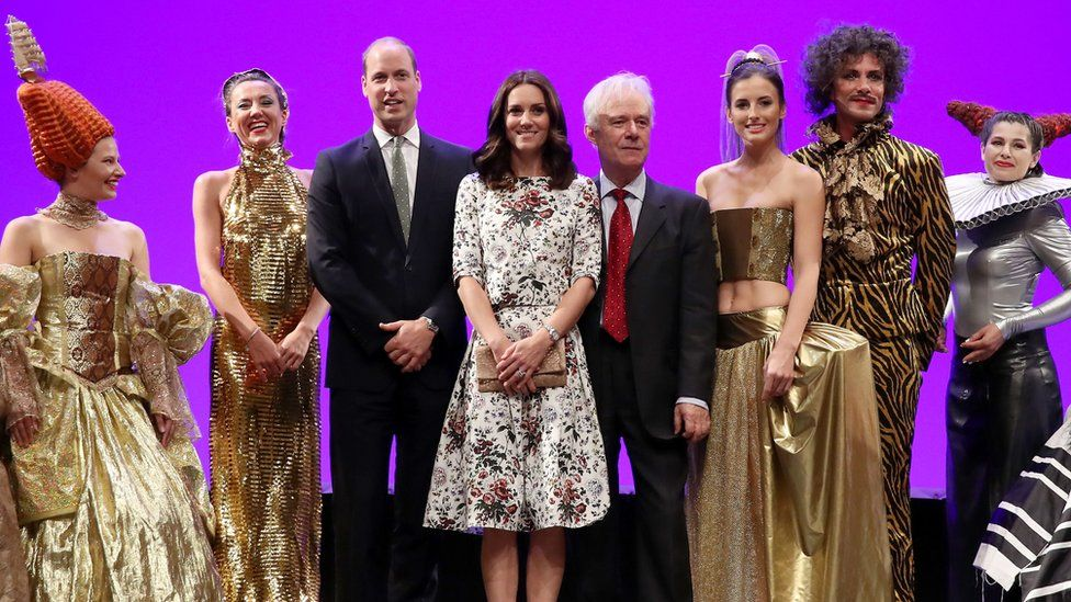 William and Catherine visit the Gdansk Shakespeare theatre