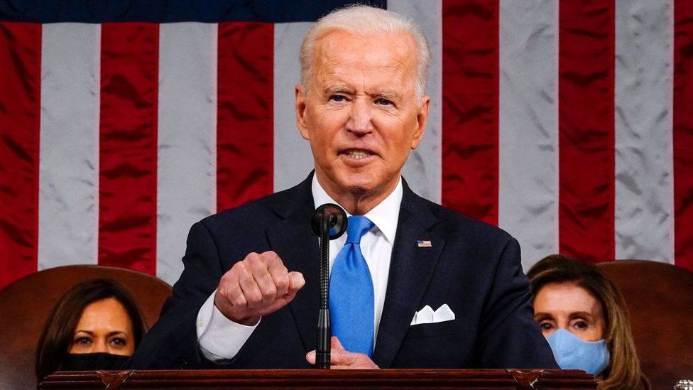 Biden speaks to Congress