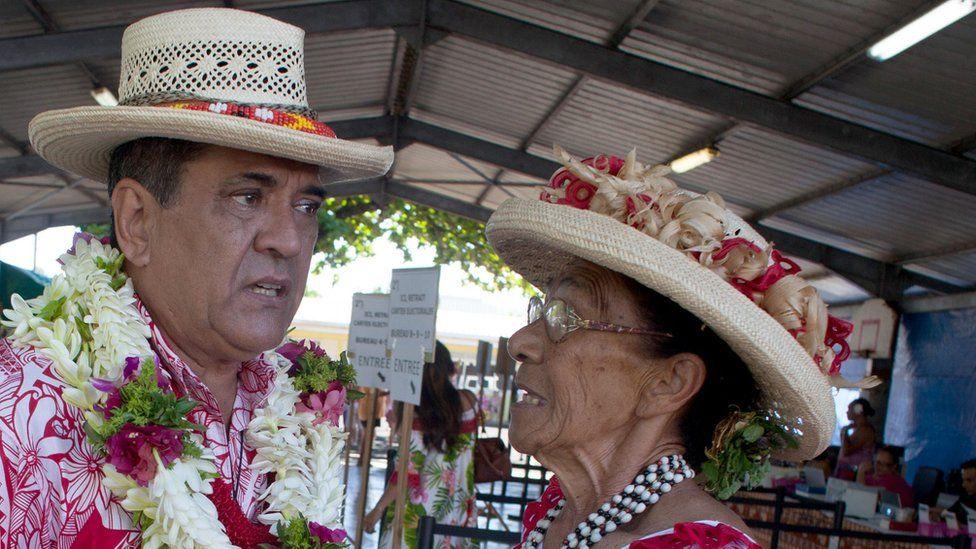 French Polynesia President Edouard Fritch