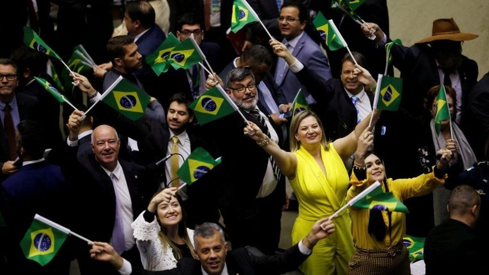 Supporters of the reform celebrated when it was approved in the lower house
