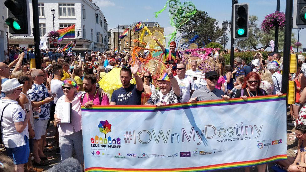 UK Pride on the Isle of Wight