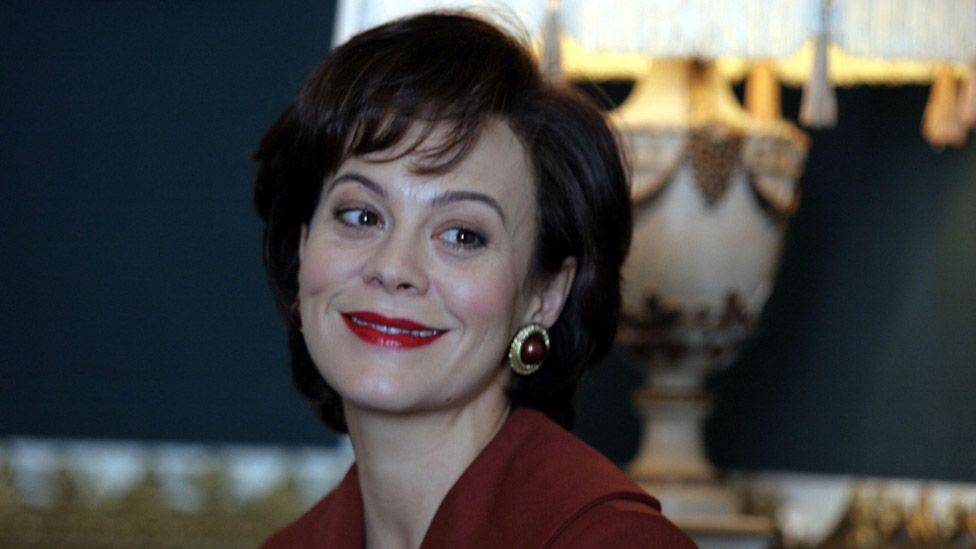 Helen McCrory as Cherie Blair in The Queen (2006)