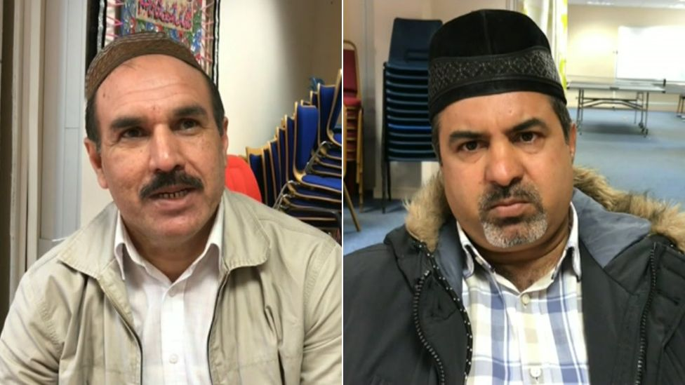 Mubarik Bashir and Arshid Mahmood