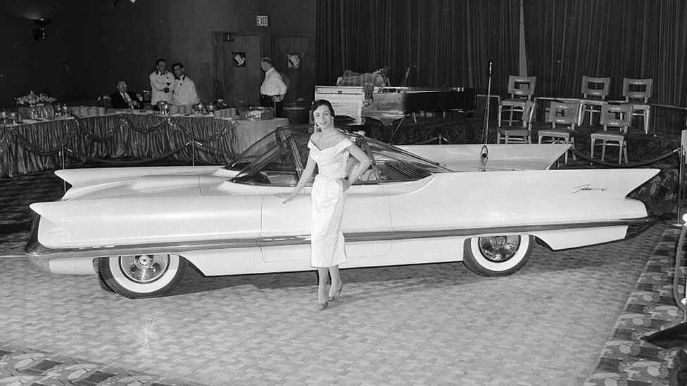 The 1955 Lincoln-Mercury Futura