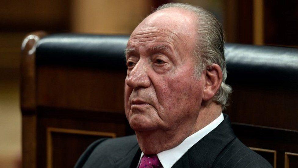 Ex-King Juan Carlos, Dec 2018