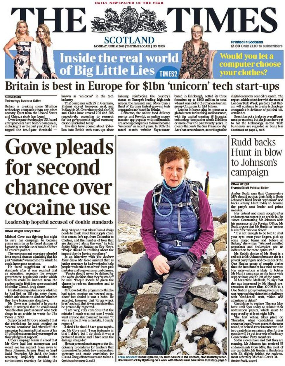 Scotland's papers: Gove asks for 'second chance' after