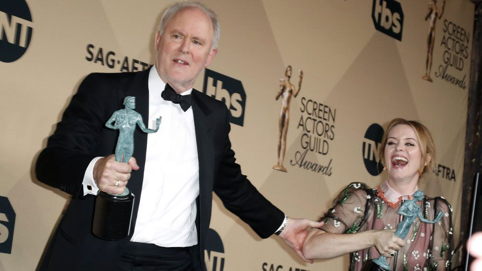John Lithgow and Claire Foy