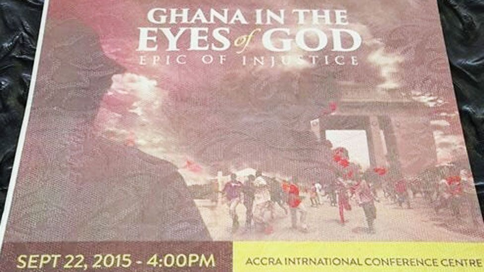 Ticket to the screening of Ghana in the Eyes of the God