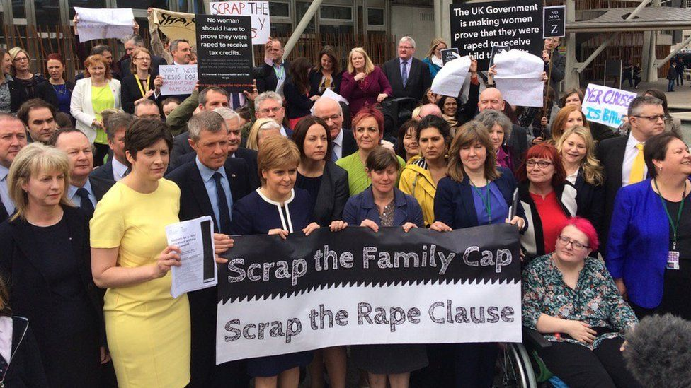 rape clause protest