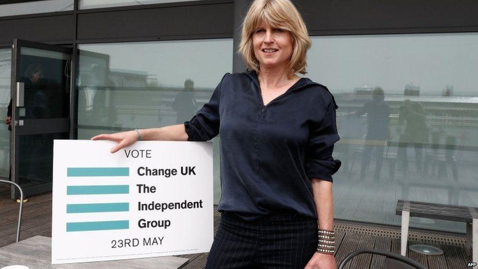 Change UK candidate Rachel Johnson
