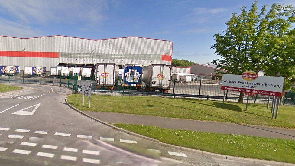 Walkers crisp factory, Peterlee