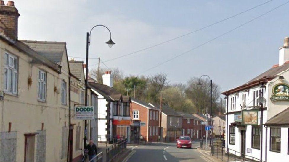 Bagillt high street