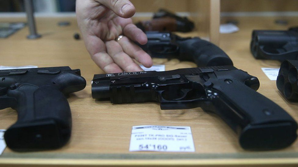 Some states allow domestic violence convicts to sell their guns or give them to a third party