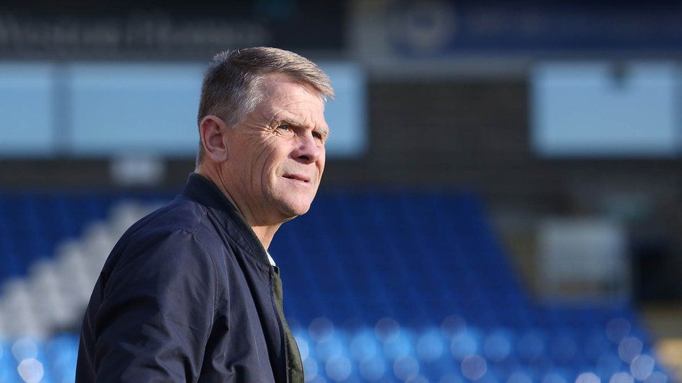 Dover Athletic manager Andy Hessenthaler