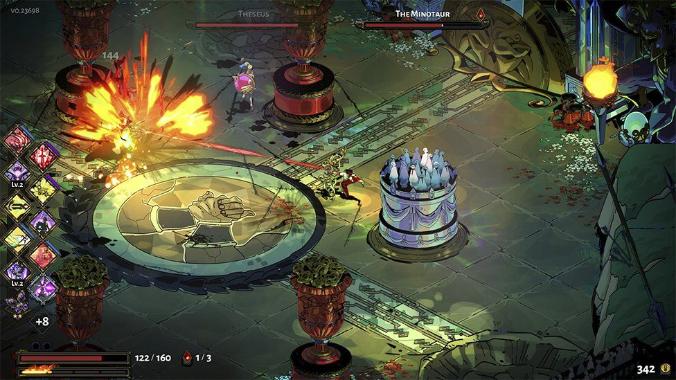 Gameplay from Hades
