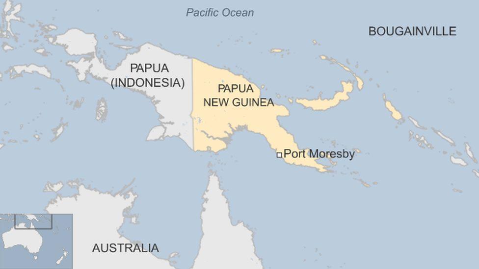 Island of New Guinea